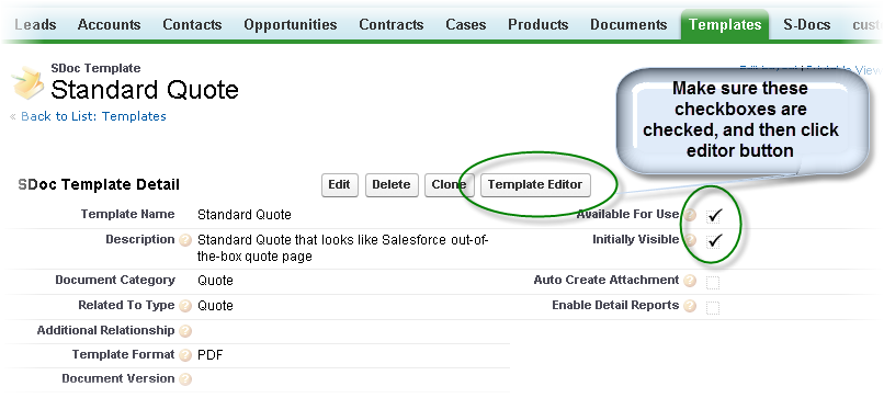 Creating Your Quotes Template SDocs For Salesforce Custom Create A Quote