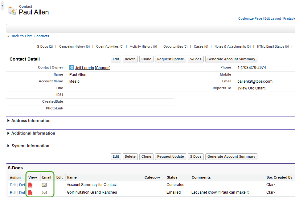 S-Docs User Guide - S-Docs for Salesforce