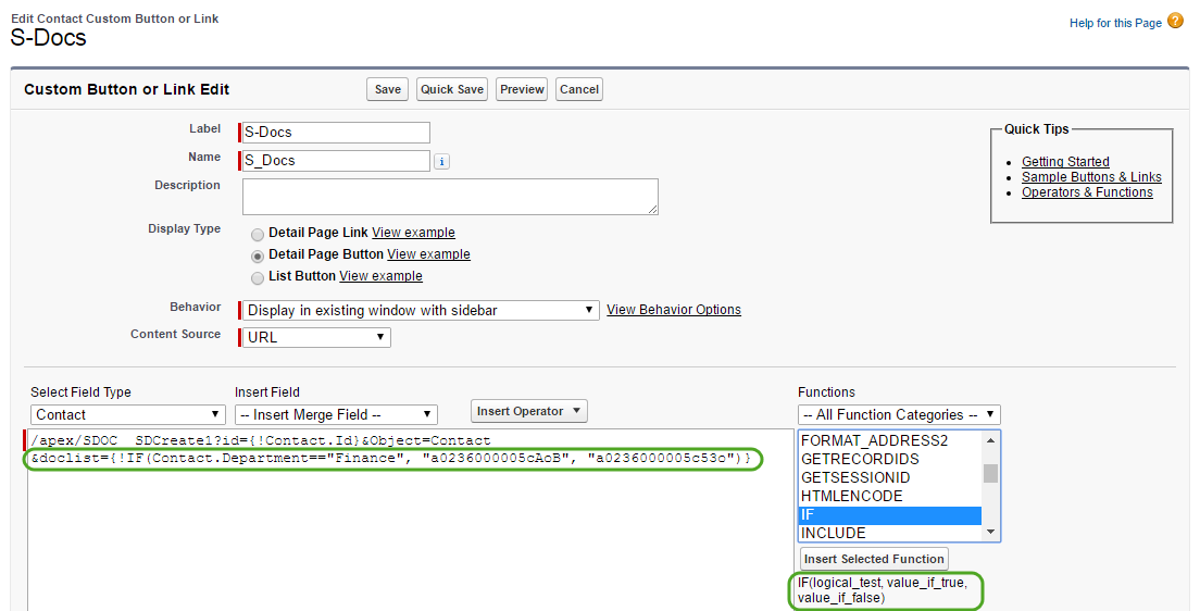 Automating Conditional Template Selection (1)
