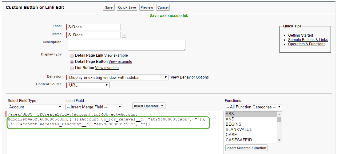 Automating Conditional Template Selection (3)