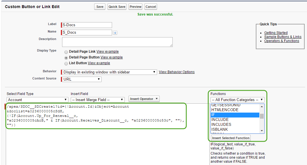 Automating Conditional Template Selection (4)