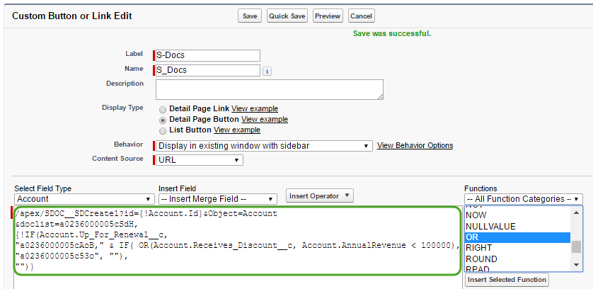 Automating Conditional Template Selection (5)