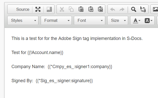 Integrating with Adobe eSign - S-Docs for Salesforce