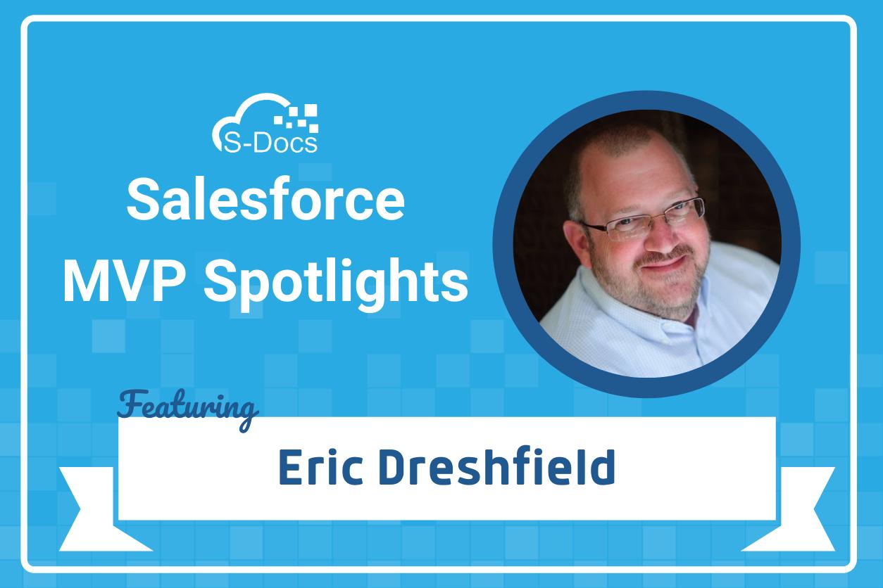 Salesforce MVP Eric Dreshfield